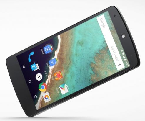 Nexus 5 with Android Lollipop