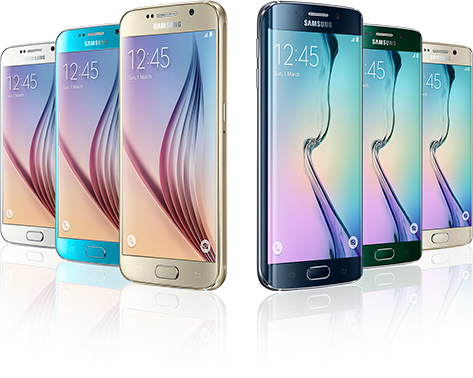 The Galaxy S6 and S6 Edge
